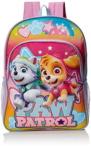 Nickelodeon Little Girls Paw Patrol 16 Inch Backpack, Pink, One Size by Nickelodeon