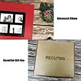 RECUTMS Photo Albums 4x6 Holds 600 Photos Black