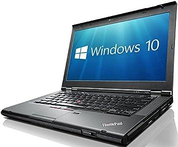 Lenovo ThinkPad T430 3rd Gen i5-3320M 4GB 320GB WebCam USB 3 0 Windows 10  Professional 64-bit (Renewed)