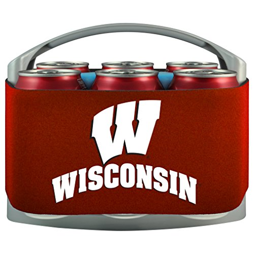 NCAA Wisconsin Badgers Cool Six Cooler