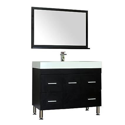 alya bath at 8041 b s vanity set 39 black amazon com rh amazon com