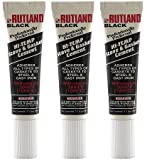 Rutland Stove Gasket Cement, 2.3-Ounce Tube, Black (3 PACK)