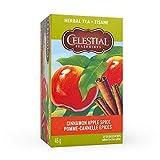 Celestial Seasonings Cinnamon Apple Spice Herbal Tea, 20 Tea Bags per box, 1 box