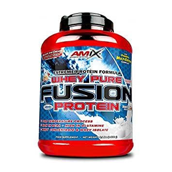 Amix Whey Pure Fusion 1 kg - Sabor - Cookies & Cream