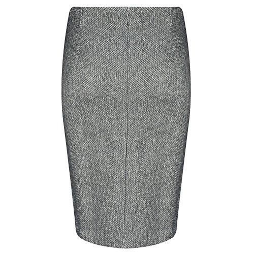 Sandwich Clothing - Falda - para mujer Grey Magnet