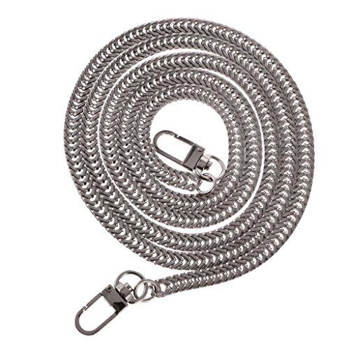 Silver DIY 128x0 Chain Replacement Purse Sharplace Handbag 6cm Strap Bag Shoulder for Craft Handle gx4BCwqS