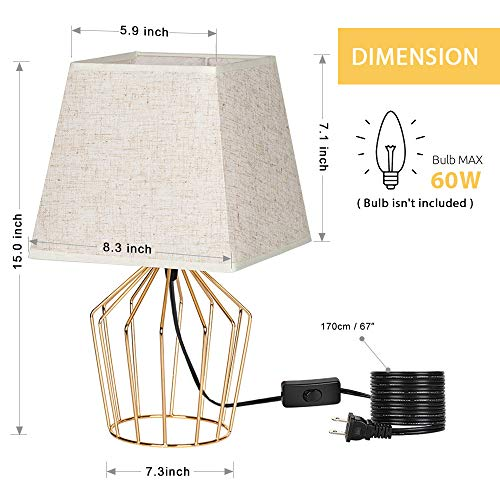 Buy retro table lamps for bedroom