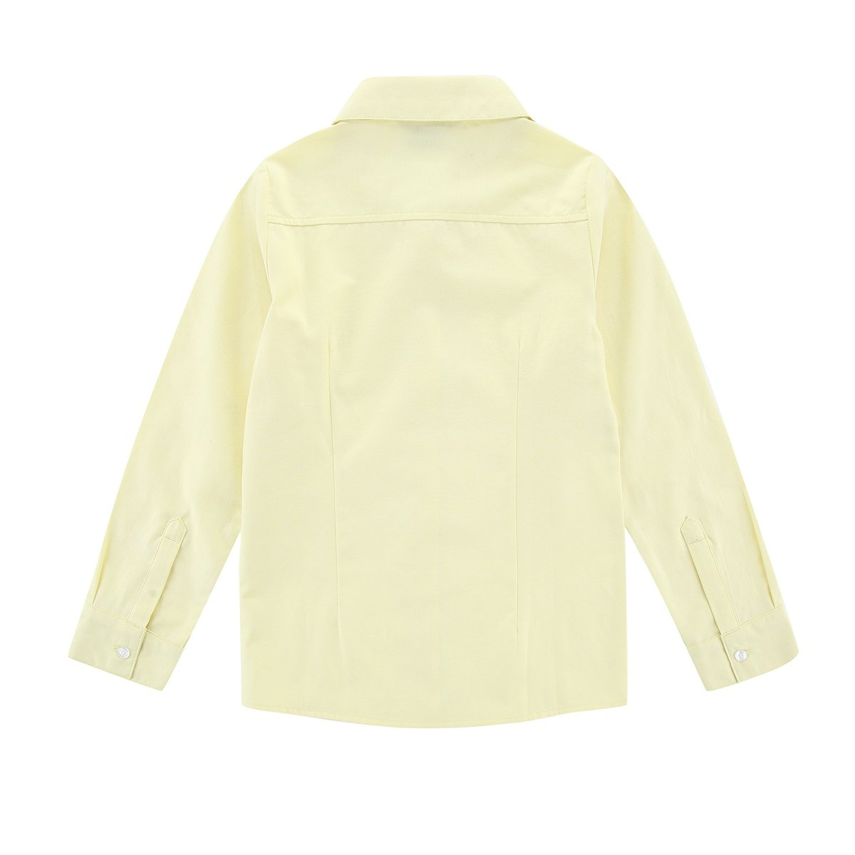 Bienzoe Big Girls School Uniforms Oxford Long Sleeve Blouse