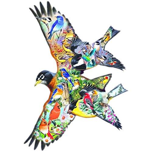 Birdsong pc Jigsaw Puzzle
