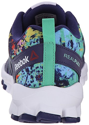 M Trainer US Metallicerortie Night Women's Electric Shoe Icono Beacon Metallicallic Reebok 0 Mist Cross White B 4 Realflex Blue Silver Train White Pink q6ZwwfYz