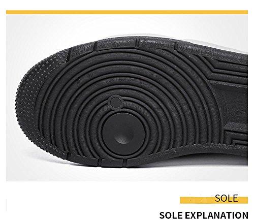 Scarpe da Ginnastica Uomo Donna Running Sportive Basket Basse Sneakers , Gray , EU45/UK11