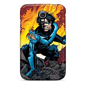Anti-scratch And Shatterproof Nightwing I4 Phone Case For Galaxy S4/ High Quality Tpu Case