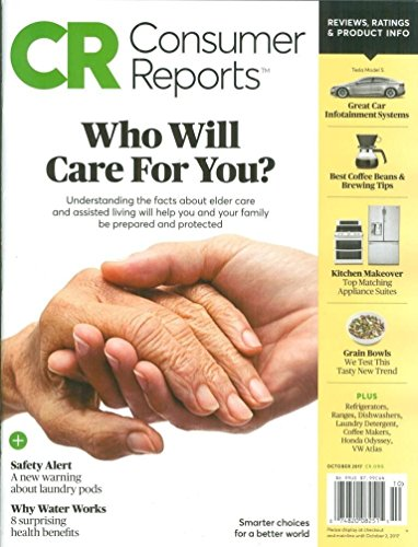 Consumer Reports Magazine October 2017 (Who will care for you)