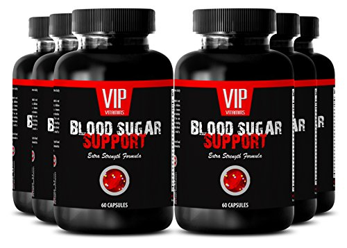 Biotin 300 - BLOOD SUGAR SUPPORT - Blood sugar test kit (6 Bottles - 360 Capsules) by VIP VITAMINS