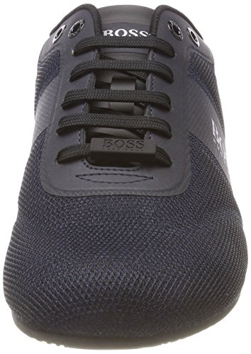 401 Blau Sneaker Mesh Dark BOSS Blue Herren Lighter Lowp KO8qxXwH6a