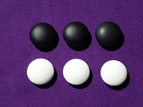 日向特製蛤碁石 実用 45号 12.8ミリ