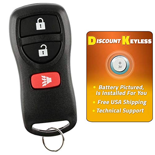 Discount Keyless Key Fob Keyless Entry Car Remote For Nissan Infiniti KBRASTU15, CWTWB1U733 - Nissan Pathfinder Remote Battery