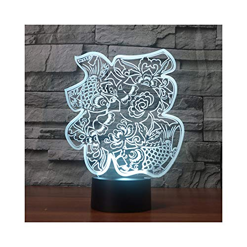 Chinese Traditional Blessing Ideas Gift LED Night Light Chinese New Year Holiday Gifts for $<!--$46.00-->