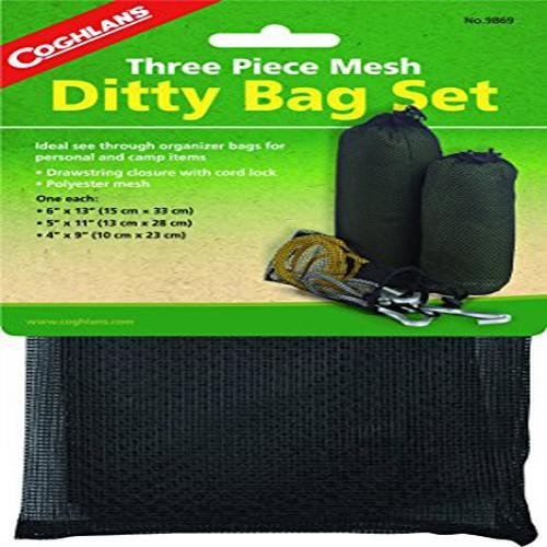 - Coghlans 9869 Mesh Ditty Bag Set 3 Count