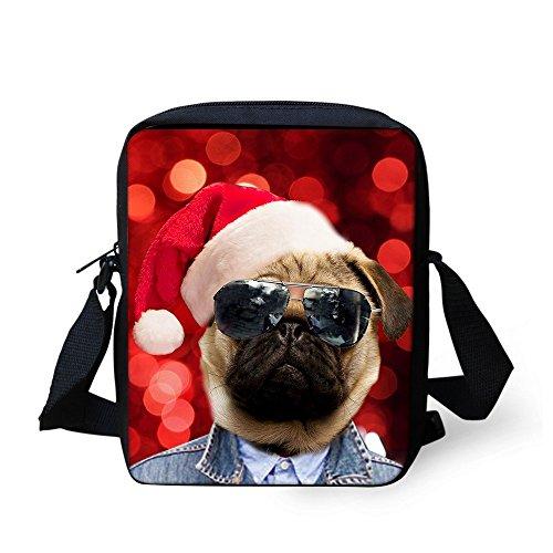 TAOTINGYAN Schulrucksack, Schultasche,Rucksäcke Kinder_Kinder Tasche Messenger Paket Tasche Schöne Kinder Diagonal Weihnachten Kinder, Sechs Sieben