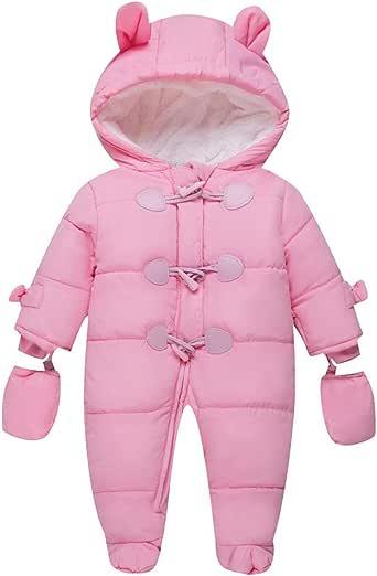 Amazon.com: TeenMiro Ropa de invierno para bebé recién ...
