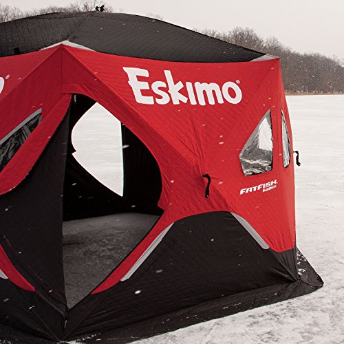 Eskimo FF6120I FatFish Insulated Pop-up Portable 6-Sided Ice