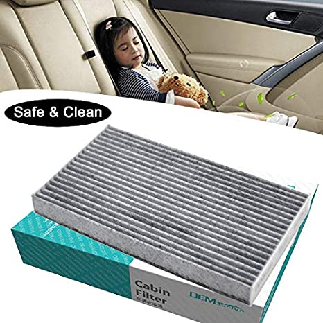 5x Car Pollen Cabin Filter Includes Activated Carbon B7891-1FC0A 27891-3NL0A For Cube Juke Leaf Sentra Pulasr Sylphy 2013 2014 2015 2016 2017