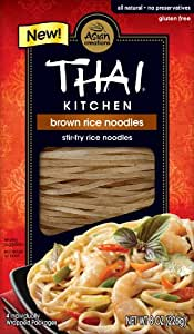 Thai Kitchen Brown Rice Noodles, 8 Ounce (Pack of 6)