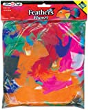 Plume Feathers 34 Grams-Assorted Colors