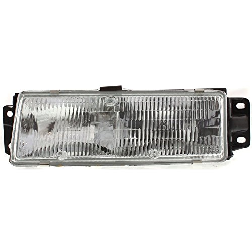 Evan-Fischer EVA13572013880 New Direct Fit Headlight Head Lamp for CUTLASS CIERA 91-96 LH Assembly Halogen With Bulb(s) Driver Side Replaces Partslink# GM2502145 (1992 Oldsmobile Cutlass Ciera)