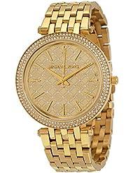 Michael Kors Womens Darci Gold-Tone Watch MK3398