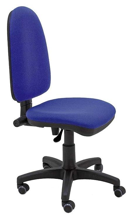 La Silla de Claudia - Silla giratoria de escritorio Torino azul para oficinas y hogares ergonómica