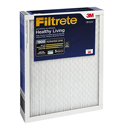 051111543283 - Filtrete Healthy Living Ultimate Allergen Reduction Filter, MPR 1900, 16 x 25 x 1-Inches, 6-Pack carousel main 2