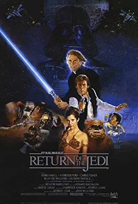 Return of the Jedi Star Wars 24x36 Poster Movie Art Print