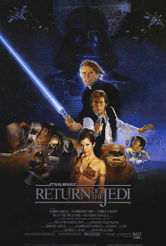 Return of the Jedi Star Wars Movie 27x40 Poster