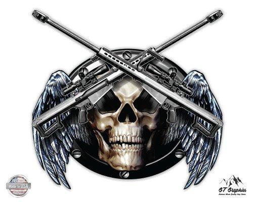 Death Reaper Crossed Weapons - 3
