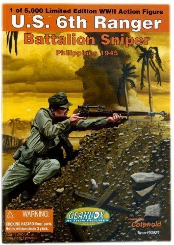 U.S. 6th Ranger Battalion Sniper-Philippines - 6th Ranger Battalion