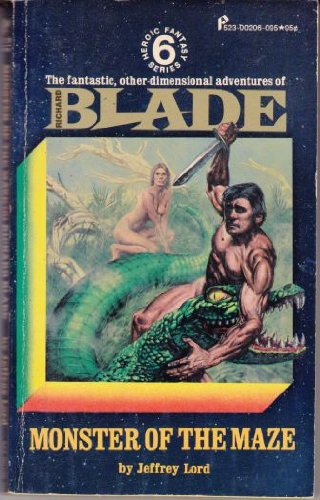 Image for Monster of the Maze   Richard Blade Series