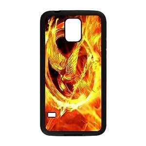 Fire 7 plastic funda Samsung Galaxy S5 cell phone case funda black cell phone case funda cover ALILIZHIA11773