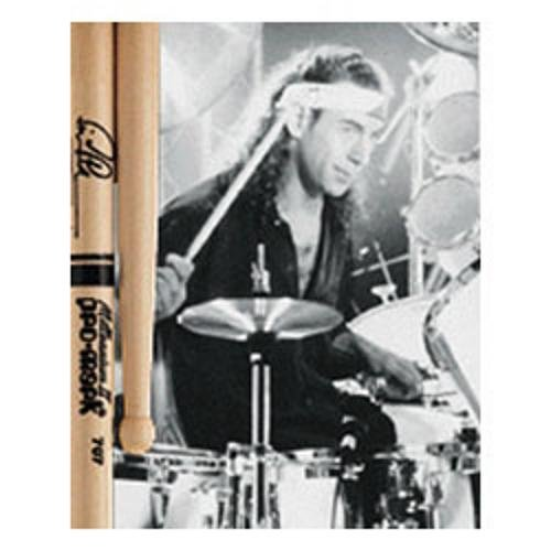 Promark TX707W American Hickory Simon Phillips Autograph Series Wood Tip, Single Pair