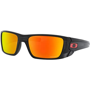 b7e5780f32 Amazon.com: Oakley Men's Fuel Cell Rectangular Sunglasses, Black Ink ...