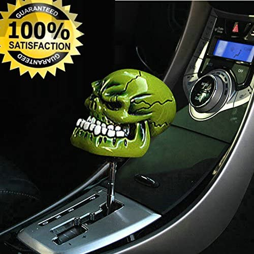 sourcing map M8//M10//M12 Universal Auto Manual Gear Skull Schaltknauf Schalthebel Schaltkopf DE de