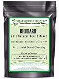 Rhubarb – 20:1 Natural Root Extract Powder (Rheum palmatum), 4 oz Review