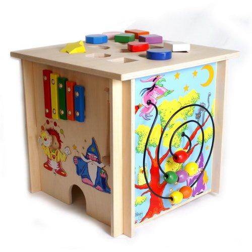 Legler Spieltisch Würfel aus Holz, 5 Seiten: Amazon.de: Spielzeug