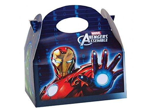 Marvel Los Vengadores niños para niños fiesta comida caja ...