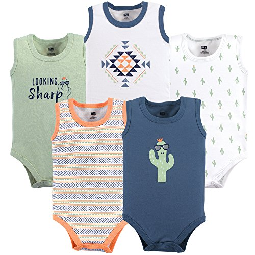 929c02072 Hudson Baby Baby Girls' 5 Pack Sleeveless Cotton Bodysuits - Buy Online in  Oman. | Apparel Products in Oman - See Prices, Reviews and Free Delivery in  ...