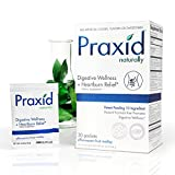 Praxid - Digestive Wellness + Heartburn Relief - Natural Formula - Probiotic Balance - GI Protection (30 Packets)