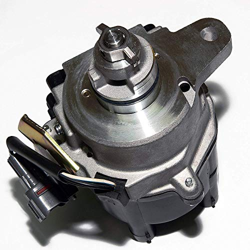 MAS New Compatible Ignition Distributor w/Cap & Rotor KA-7AFE for 95-97 TOYOTA CELICA ST COROLLA DX LE GEO PRIZM 1.8L 19050-16030 94855714 606-58828690-117 D9090 31-77435 8477435