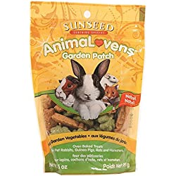 Sunseed Company 36021 Garden Patch Animalovens Small Animal Treat, 3.5 Oz.