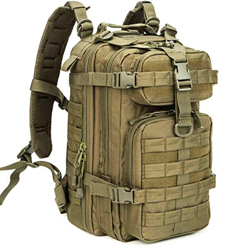 T-shirt Enough Duct Tape - WolfWarriorX Military Tactical Assault Backpack Hiking Bag Extreme Water Resistant Small Rucksack Molle Bug Out Bag for Traveling, Camping, Trekking & Hiking (O.D.Green)